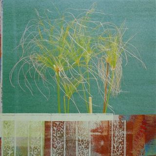 Bot. Garten 30 x 30 cm | 2018 | Collage